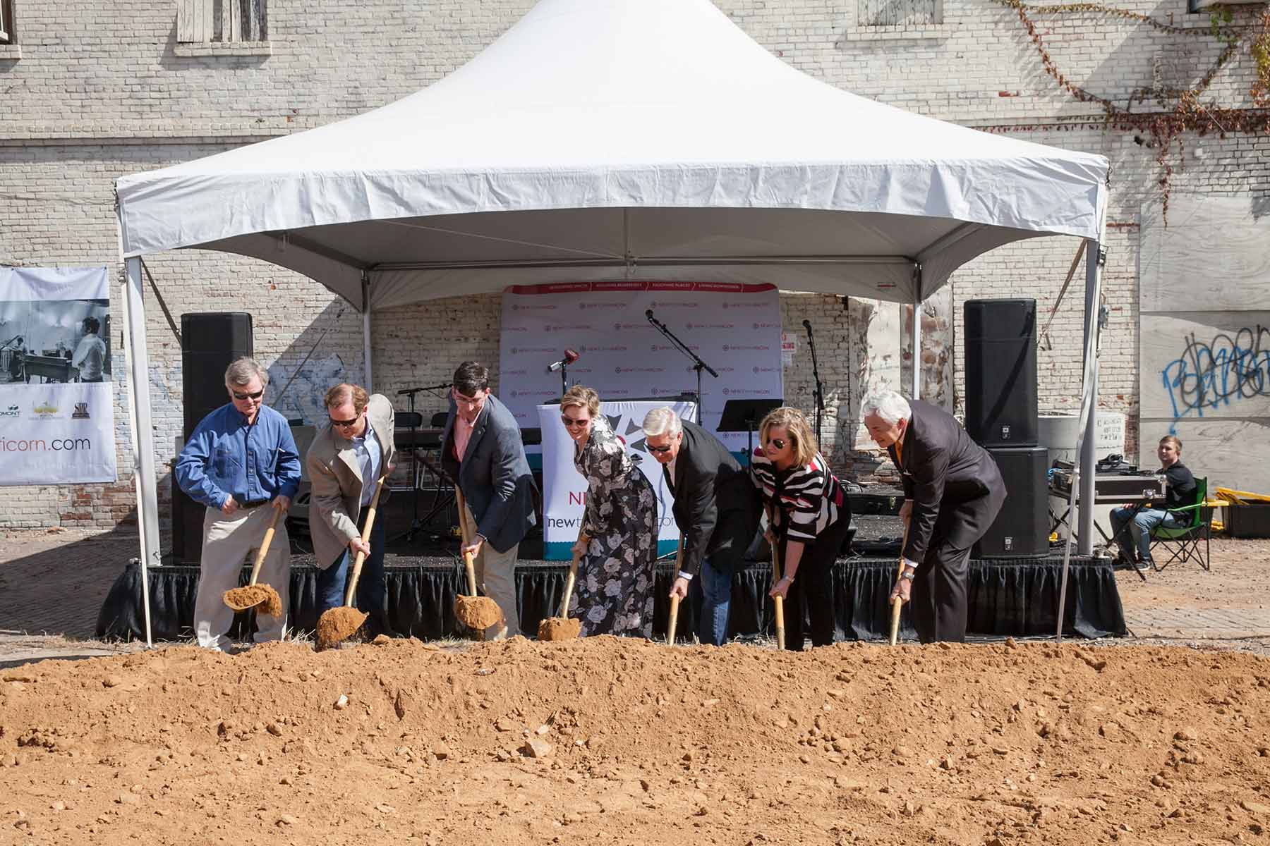 Mercer Music at Capricorn and the Lofts at Capricorn Groundbreaking